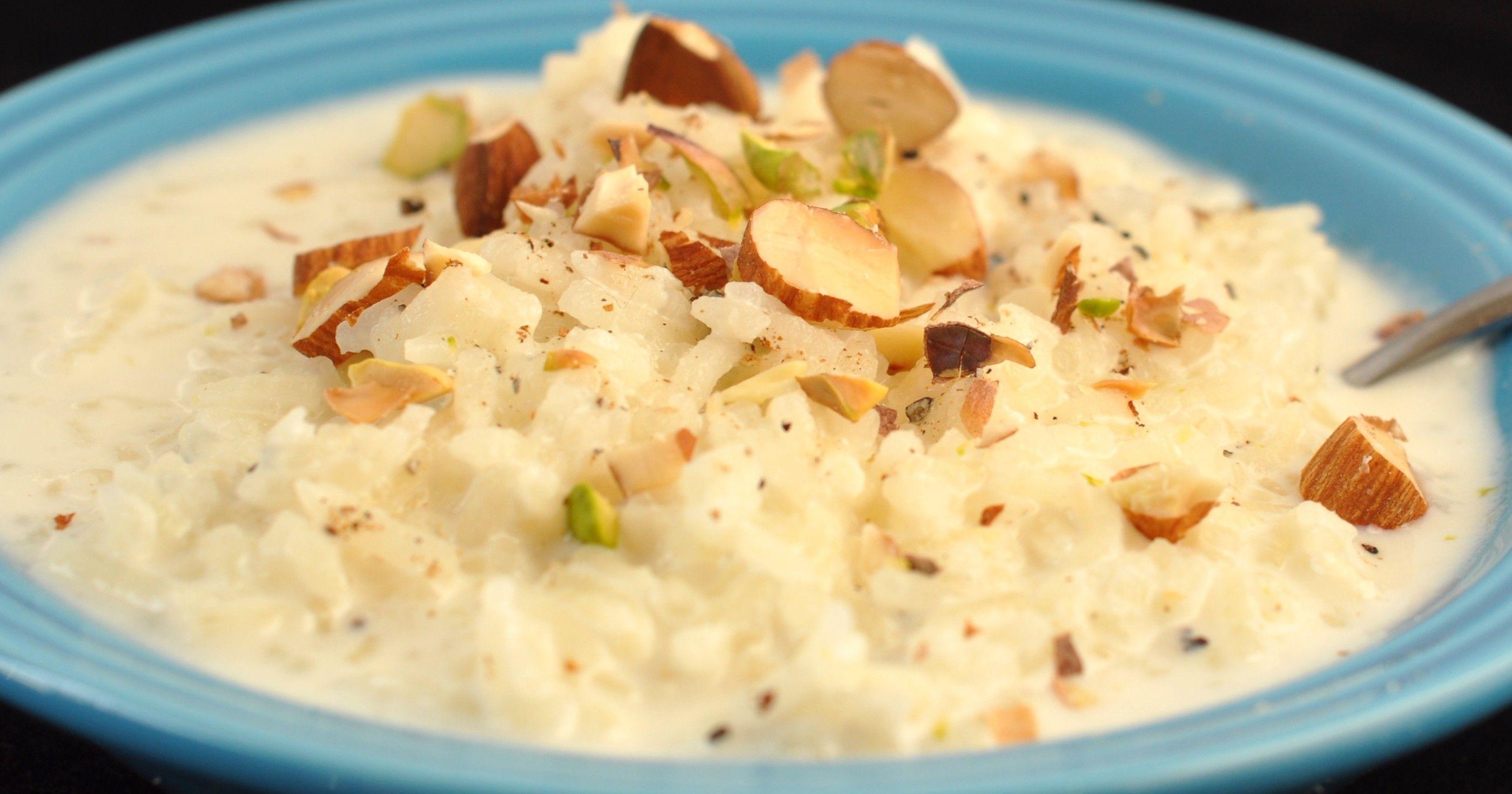 <b>Recipe: Rice Kheer</b>