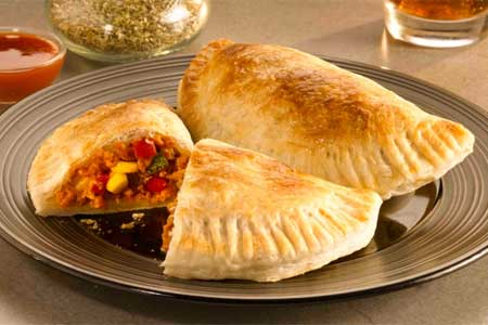 <b>Recipe: Easy paratha calzone</b>