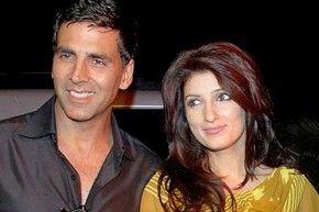Akshay Kumar and Twinkle