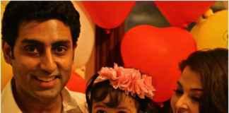 Abhishek and Aishwarya with Aaradhya/facebook