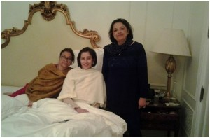 Manisha Koirala before surgery/twitter
