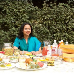 <b>Cooking up a storm with Bharti Sanghi</b>