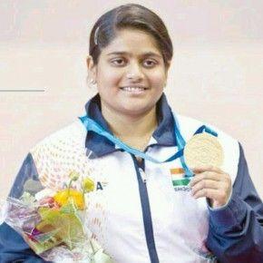 <b>Rahi Sarnobat bags India's first gold in...</b>