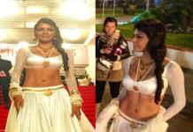 Sherlyn Chopra at Cannes