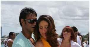 Kareena Kapoor and Ajay Devgn