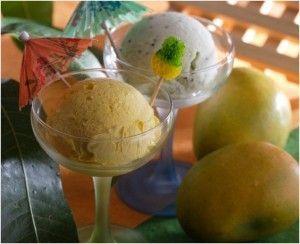 Mango ice creams