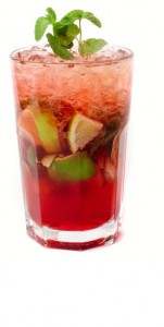 Watermelon and coconut cooler