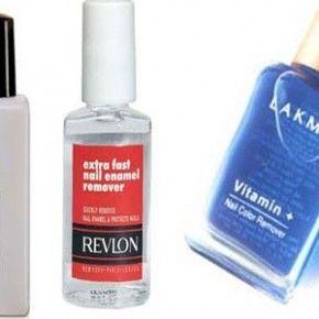 <b>Five unusual uses of nail polish remover...</b>