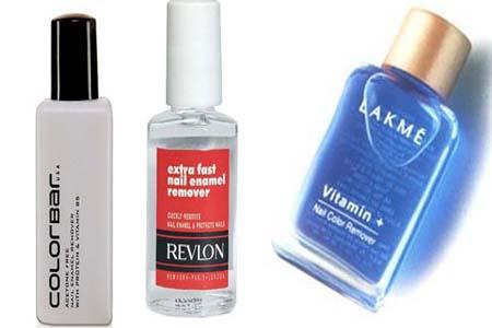 Nail Polish removers