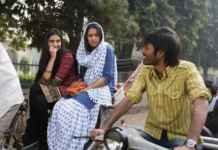 A stalking still from Raanjhnaa