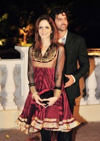 Hrithik and Suzanne Roshan
