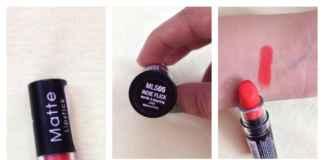 NYX Matte Lipstick Indie Flick