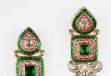 Diamond earring design