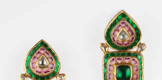 Diamond earring design