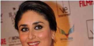 Kareena wearing kohl