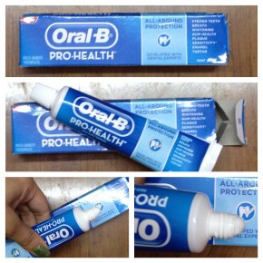 oral b pro health toothpaste The oral-b kid's manual toothbrush featuring marvel's avengers is the  perfect kid's toothbrush for your own little super hero as their oral health.