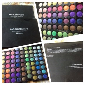 88 Colour eyeshadow palette by BH cosmetic