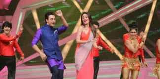 Imran and Kareena performing on Nach Baliye
