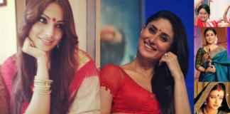 Bollywood actresses wearing bindi