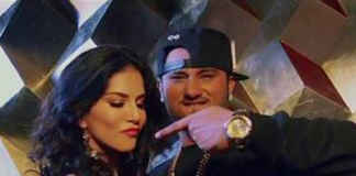 Honey Singh & Sunny Leone in Chaar Bottle Vodka