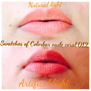 Colorbar Creme Touch Lipstick in Nude Coral 012