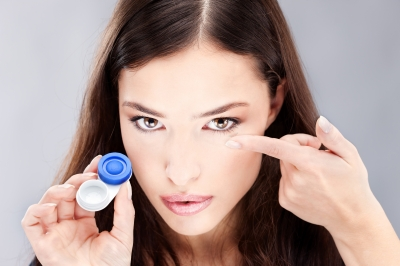 Care for your contact lens