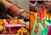 Punjabi wedding rituals chooda and kalire