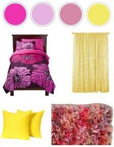 Choose bright colours