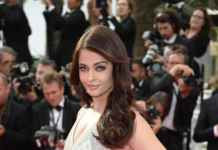 Aishwarya's second appearance at Cannes red carpet