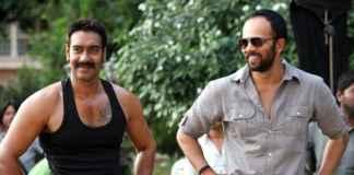 Ajay Devgn with Rohit Shetty