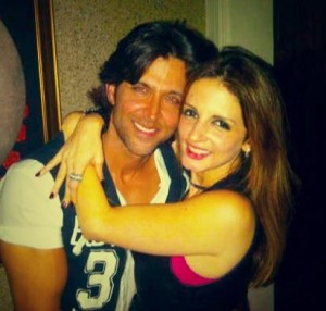 Hrithik Roshan and his wife Sussane
