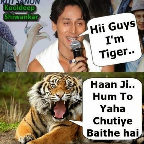 Jokes on Tiger Shroff