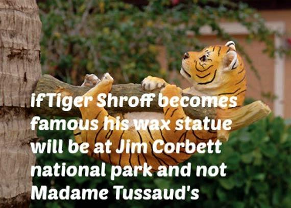 Jokes on Tiger Shroff