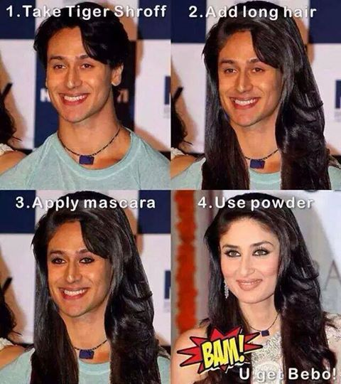 Joke on Tiger Shroff