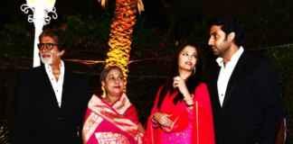 The Bachchan family/facebook