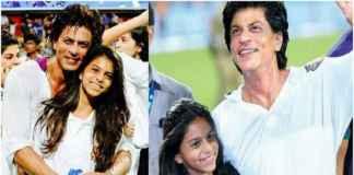 Shah Rukh Khan with Suhana/twitter