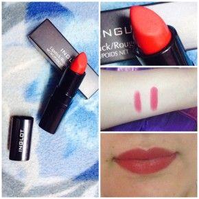 <b>Expert review: Inglot Matte Lipstick 408</b>