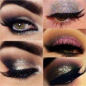 <b>How to apply glitter on eyes</b>