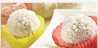 Coconut ladoo/pinterest