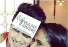 Arpita with fiancé Aayush Sharma