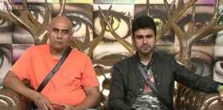 Puneet Issar and Arya Babbar
