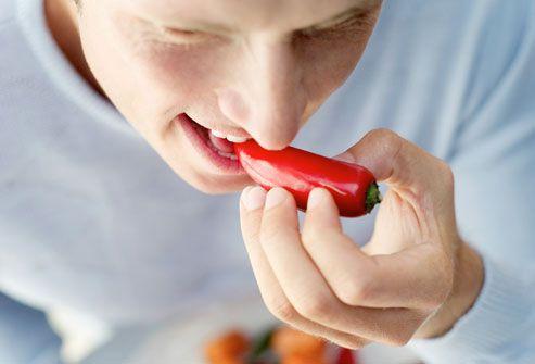 True men love spicy food