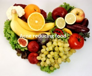 Food to clear acne