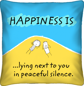 Happiness cushion by Portico