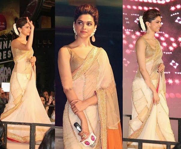 Deepika rocks a saree