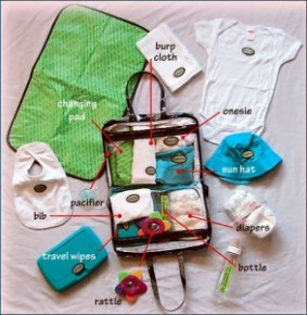 Diaper bag essentials for new mommy