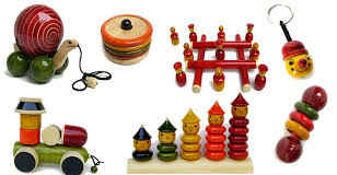 Wooden Laquer Toys by Hamleys