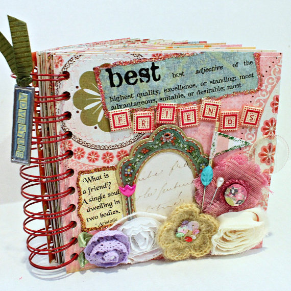 Make a scrap book for your bff