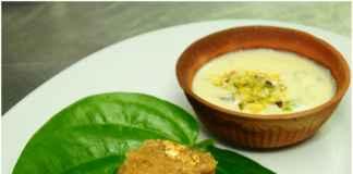 Desserts at Dilli 32 awadhi food festival