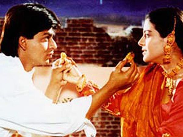 The iconic Karva Chuath scene from DDLJ